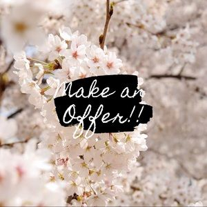 🌸All Offer Welcome!🌸